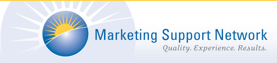marketing support network MSN Logo. Click here to return to MSN home.